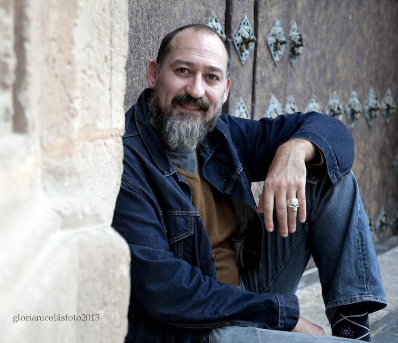 El actor Daniel Albaladejo, durante una de sus últimas visitas a Murcia