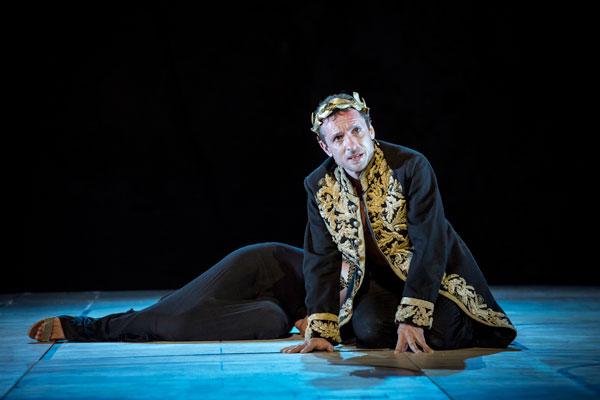El actor Pablo Derqui da vida a Calígula // FOTO: David Ruano (www.focus.es)