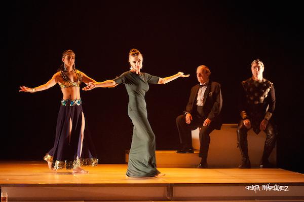 Un momento de la representación en el Teatro Circo Murcia // RAFA MÁRQUEZ