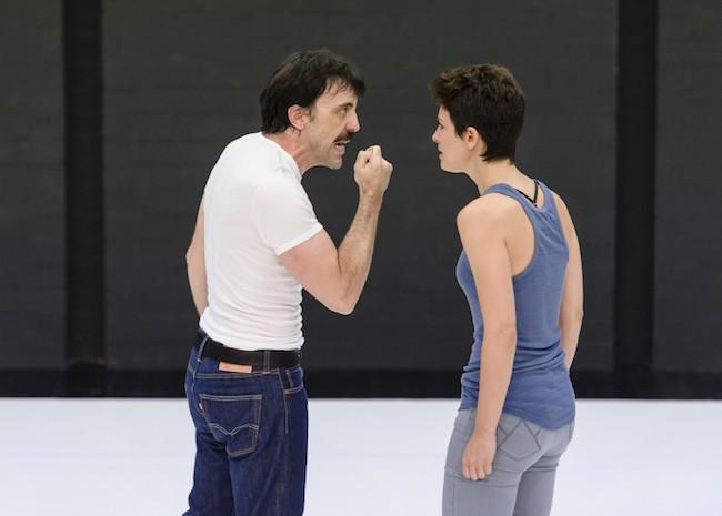 Israel Elejalde y Bárbara Lennie, en 'La clausura del amor' FOTO: Josep Aznar (www.kamikaze-producciones.es/)