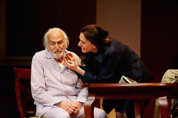 Héctor Alterio, durante una representación de 'El Padre' // FOTO: Miguel Ángel de Arriba (Pentacion Espectáculos)