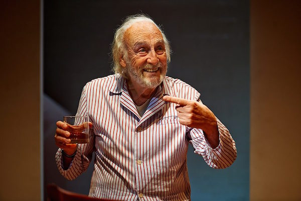 El actor Héctor Alterio // FOTO: Miguel Ángel de Arriba (Pentacion Espectáculos)