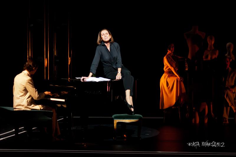 Ana Belén, sobre el escenario del teatro Circo Murcia