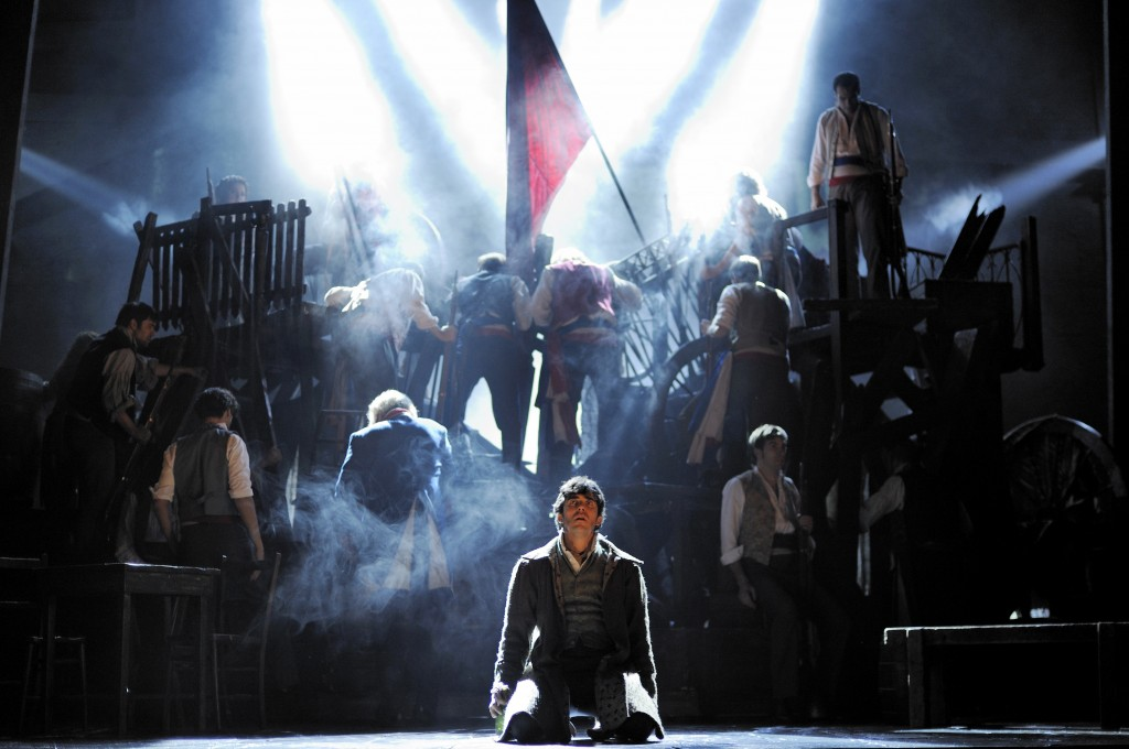 Escena del musical 'Los Miserables'