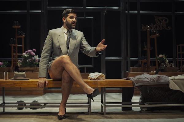 Javier Lara es uno de los actores de 'Todo el tiempo del mundo' // Vanessa Rabade (www.kamikaze-producciones.es)
